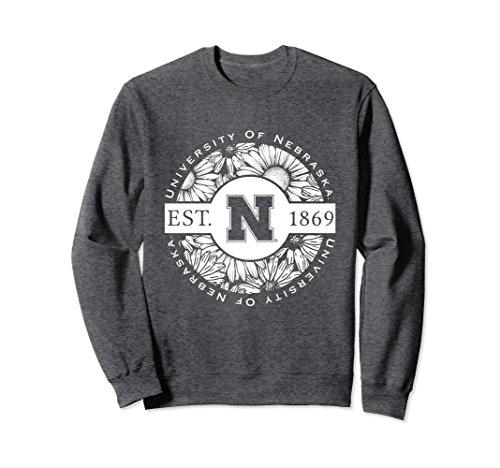 - Unisex Nebraska Huskers Women's NCAA Crew Neck Sweatshirt 1701ECDE Medium Dark Heather