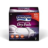 Medline Ultrasorbs Disposable Dry Pads, 7 Count