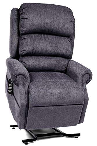 Petite Lift Chair (StellarComfort Petite UC550-JPT Zero Gravity Lift Chair Recliner with Comfort Coil Seating - Granite (curbside Delivery))