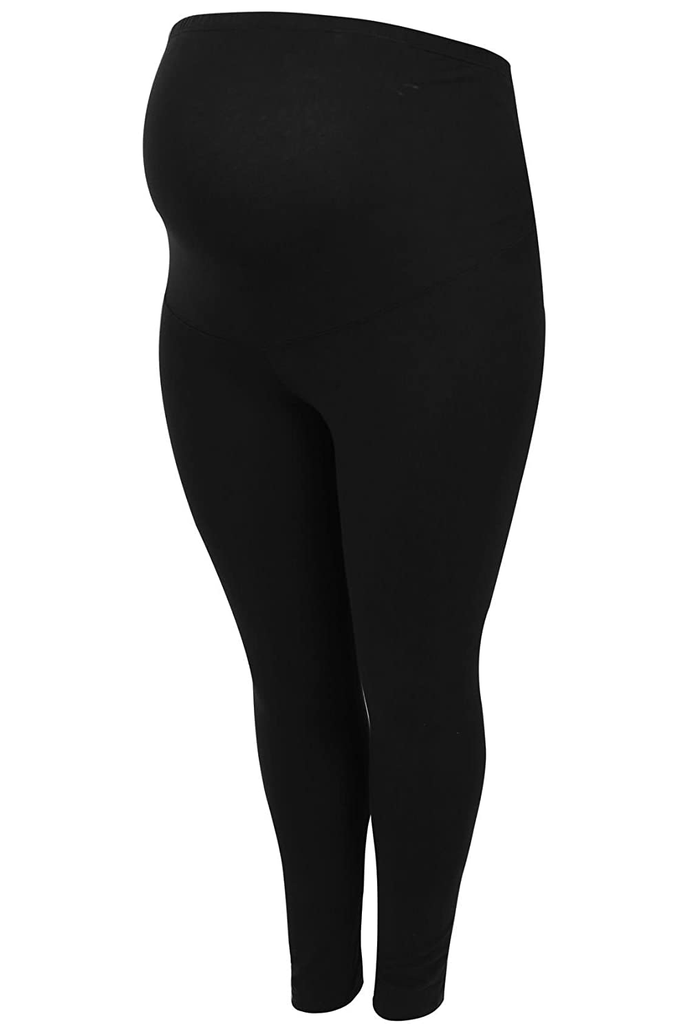Women's Plus Size Bump It up Maternity Soft Touch Leggings with Tummy Control Pa
