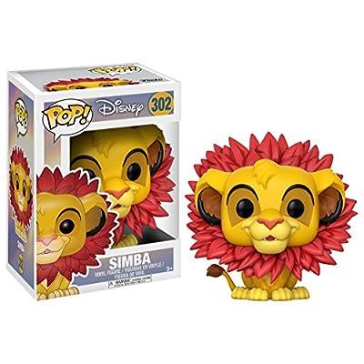 Funko Pop Disney Lion King-Simba (Leaf Mane) Toy: Funko Pop! Disney:: Toys & Games