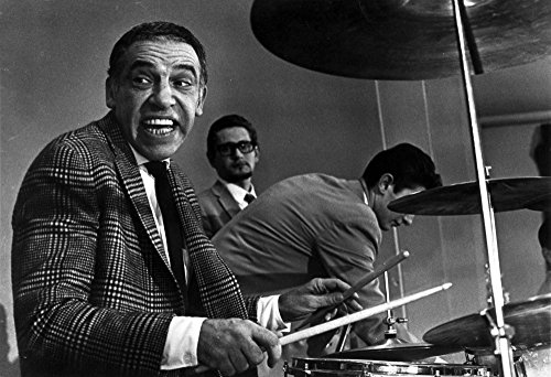 Buddy Rich playing the drums Photo Print (10 x 8) ()