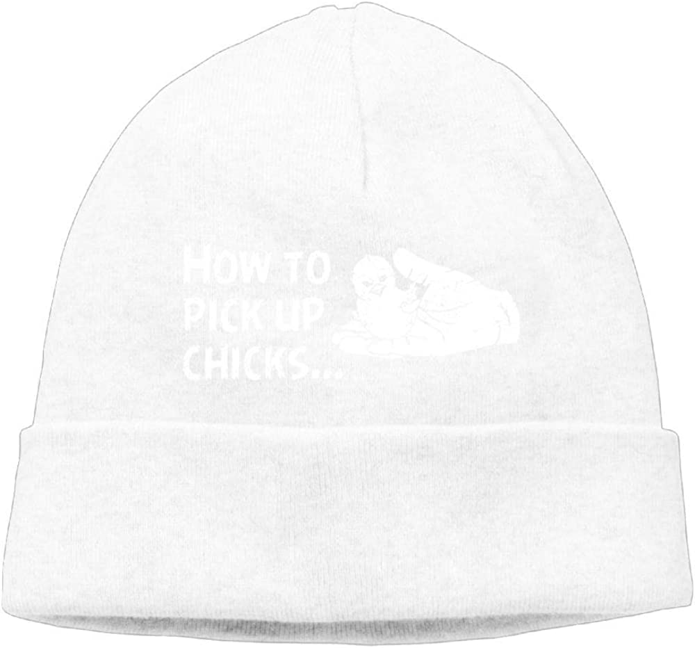Poii Qon How to Pick Up Chicks8 Beanie Hats Knit Caps for Woman Man