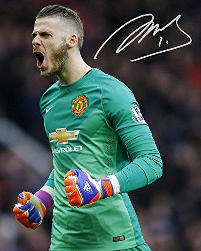 David De Gea - Manchester United Signed Autographed 8 x 10 Photo