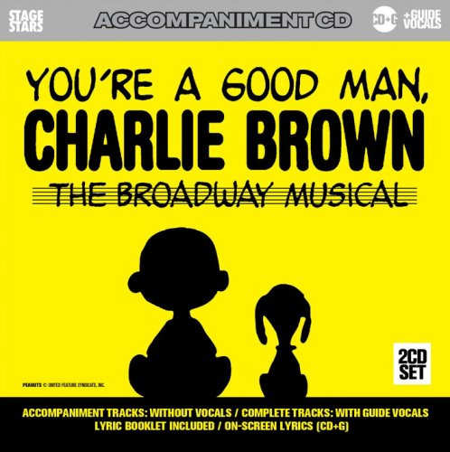 Man Karaoke Music - Sing You're A Good Man Charlie Brown: The Broadway Musical