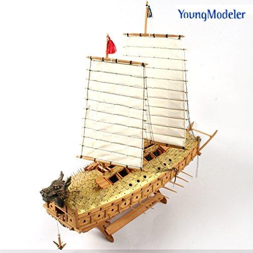 ([YOUNGMODELER] Wooden Model Kit Turtle Ship 1/100 )