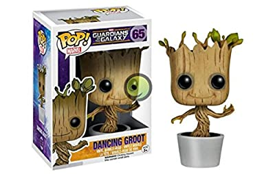 Funko Pop Marvel Dancing Groot Bobble Action Figure by Funko