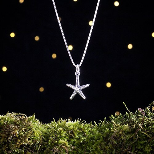 Sterling Silver Starfish - Small - (Charm, Necklace, or Earrings) - Ready to Ship ()
