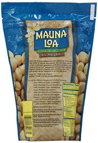 Mauna Loa Dry Roasted Macadamias