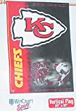WinCraft NFL Kansas City Chiefs 27″ x 37″ Vertical Flag, New