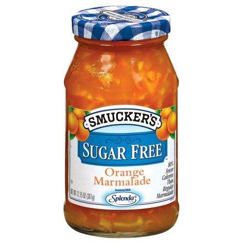 Smucker's Sugar Free Orange Marmalade 12.75oz Jar (Pack of 3) by Smucker's
