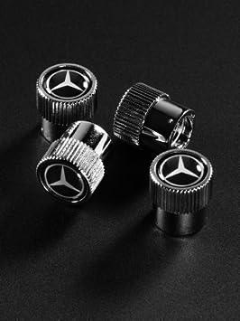 Mercedes-Benz 66472002 - Tapones para válvulas, color negro: Amazon.es: Coche y moto