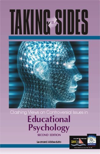 Taking Sides: Clashing Views on Controversial Issues in Educational Psychology 2nd Edition by Abbeduto, Leonard published by McGraw-Hill/Dushkin Paperback
