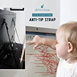 TV Anti Tip Straps (2 Pack) - Baby Proof