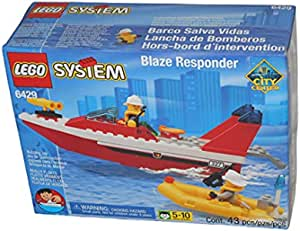 LEGO Town City Fire Boat 6429