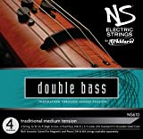 D\'Addario NS Electric Traditional Bass String Set, 3/4 Scale, Medium Tension
