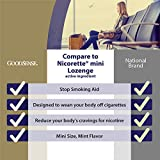 GoodSense Mini Nicotine Polacrilex Lozenge, 2 mg