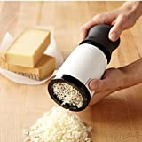 Maphissus Cheese Grater Baking Tools Cheese Slicer Mill Kitchen Gadget with Rubber Handle Stainless Steel Blade For Cheese Chocolate Cutter Chopper