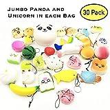 Pidoko Kids Random Assorted Squishies - 30 Pack Squishy...