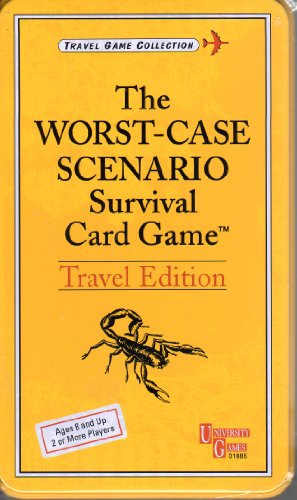 Worst-Case Scenario Card Game: Travel by Univ Games