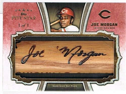 2012 Topps JOE MORGAN # JM Five Star Bat Barrels #d 1/1 - Baseball Game Used Cards