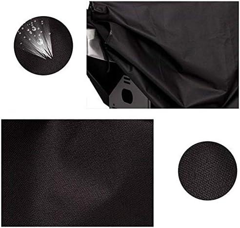 ETNLT 庭の藤の家具カバーバーベキューグリル機械装置オックスフォードの布、防水/防風2サイズ 家具カバー (Color : Black, Size : 141x61x113)