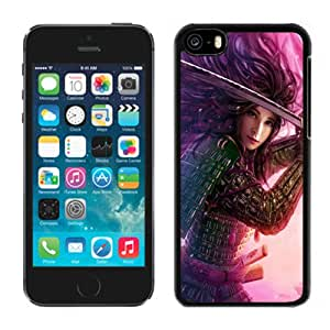 Fashion DIY Custom Designed iPhone 5C Generation Phone Case For Female Warrior Phone Case Cover