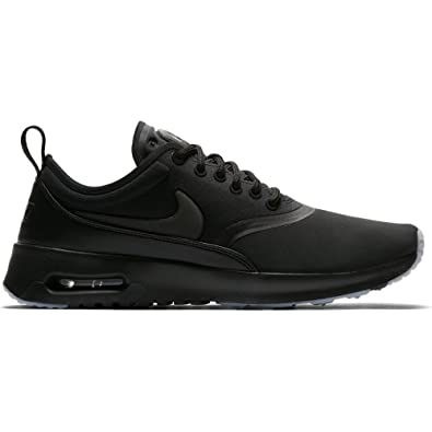newest collection 8d7e2 a608b Nike Air Max WMNS Thea Premium 848279-005, Baskets Femme, Noir (001