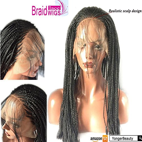micro braided wigs - 5