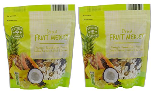 (Southern Grove Naturally Flavored Packaged Dried Fruit (Fruit Medley, Two 7.5oz Bags))