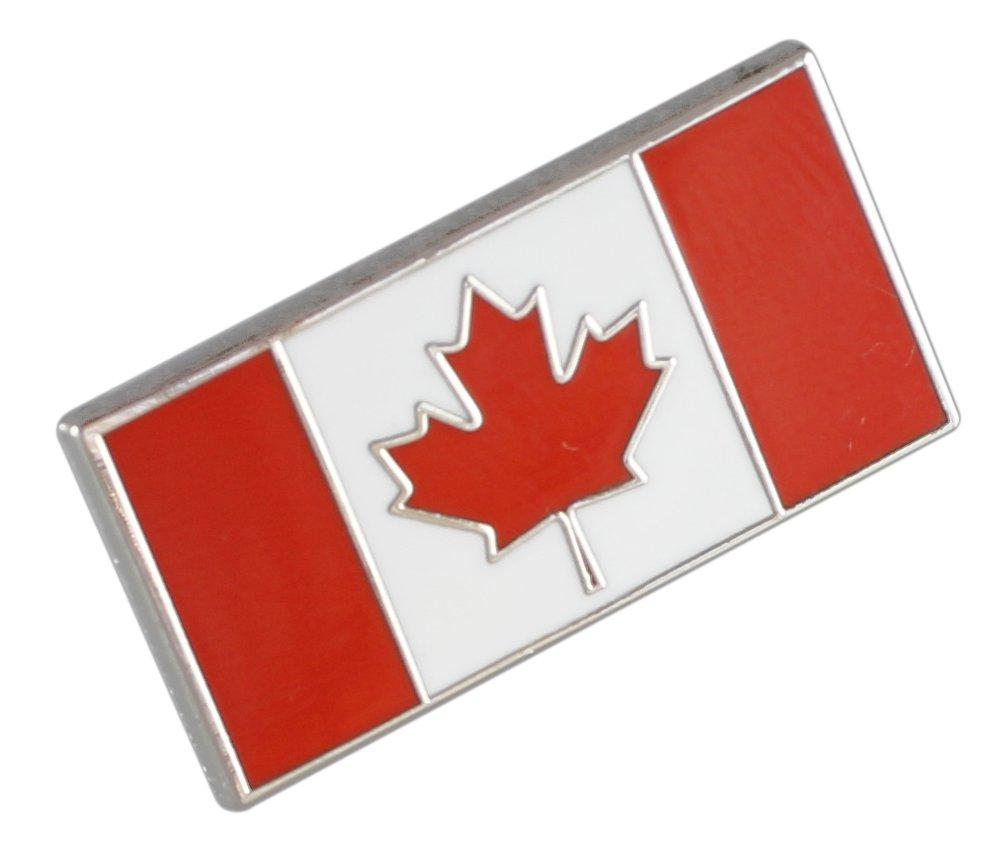 Forge Canadian Flag-Maple Leaf - Enamel Lapel Pins- Bulk (100 Pins) by Forge (Image #1)