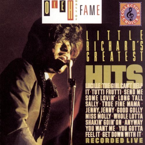 LITTLE RICHARD - Greatest Hits Live By Little Richard - Zortam Music