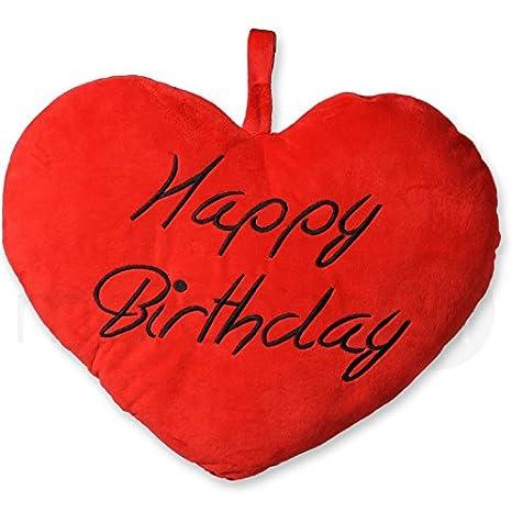 Dolce Cuore Peluche Happy Birthday Buon Compleanno Cuscino Peluche A