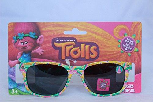 Princess Trolls Girls Sunglasses 100% UV Protection Children Kids