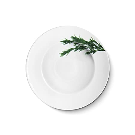 Creatable - Europa hierbas - Pasta Plato Romero 27 cm, porcelana ...