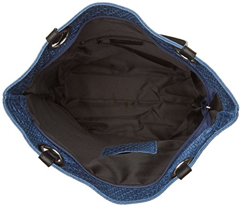 Women's Blue Bag 80060 Chicca Borse handle Top 0Y4w5q
