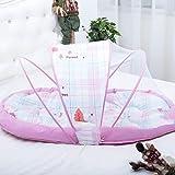 Là Vestmon Bed Cushion Portable Folding Crib Mattress with Mosquito Net