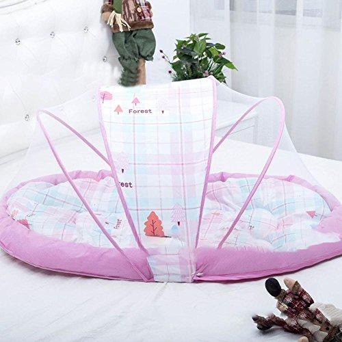 Là Vestmon Bed Cushion Portable Folding Crib Mattress with Mosquito Net by Là Vestmon