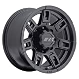 16 truck hub cap set - Mickey Thompson Sidebiter II Wheel with Satin Black Finish (16x8