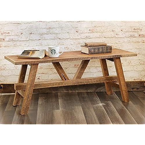 Reclaimed Wood Coffee Table Amazoncom