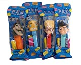 Meet The Robinsons Pez Set Lewis Wilbur Carl Bowler Set of 4 In Bags by Pez Candy