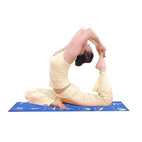 iBâstte Estera Plegable de la Yoga del PVC Respetuoso del ...
