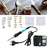 37Pcs Wood Burning And Soldering Iron Kit Magic Soldering Pyrography Tools - Electrical Soldering Tools Soldering Tools Kits - Working Machine X 1