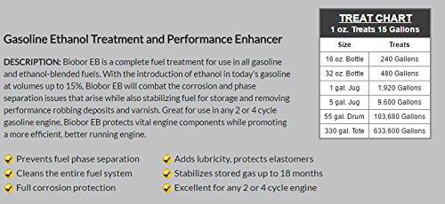 Biobor EB, Ethanol Buster and Performance Enhancer Gasoline