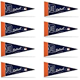 Detroit Tigers 8 Piece Mini Pennant Set