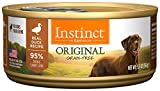 nature best dog food - Instinct Original Grain Free Real Duck Recipe Natural Wet Canned Dog Food by Nature's Variety, 5.5 oz. Cans (Case of 12)