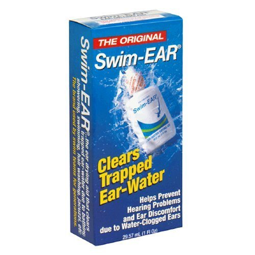 Swim-Ear Ear-Water Drying Aid, 1 fl oz (Pack of 3) (Drops To Get Water Out Of Ear)