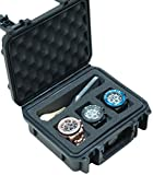 Case Club Waterproof 3 Watch & Accessory Pocket Travel Case