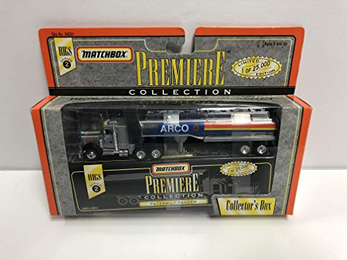 Limited Edition Tanker - ARCO Peterbilt Tanker Matchbox Rigs Premiere Collection diecast Limited Edition