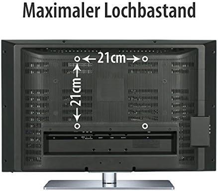 Fair Style TV o monitor Soporte Adecuado Para TV Y Monitores hasta 106 cm diagonal (46 pulgadas) también con normas VESA en cm: 7,5 x 7,5, 10 x 10, 20 x 10,